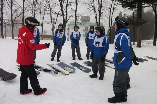 毎年2月はスキー実習 参加は自由です