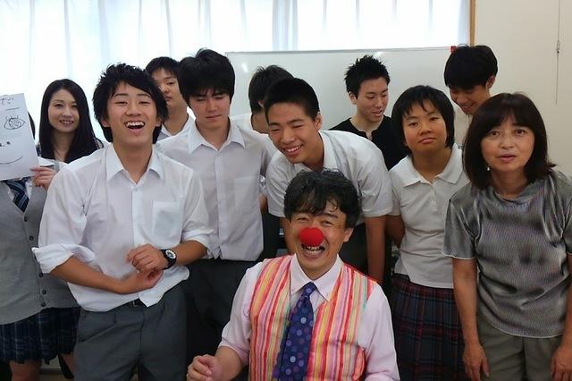 昭和病院院内学級の副島先生が学院に来てくれました