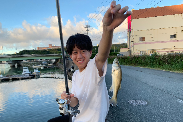 今年は三重県で魚釣りを楽しみました。