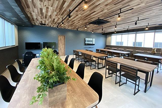 リニューアルされた食堂です。