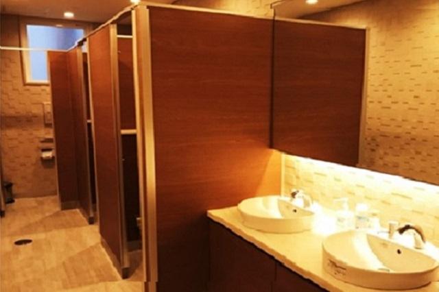 清潔なトイレで快適です!